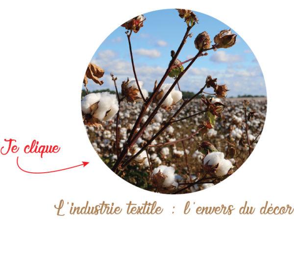 industrie du textile champs de coton