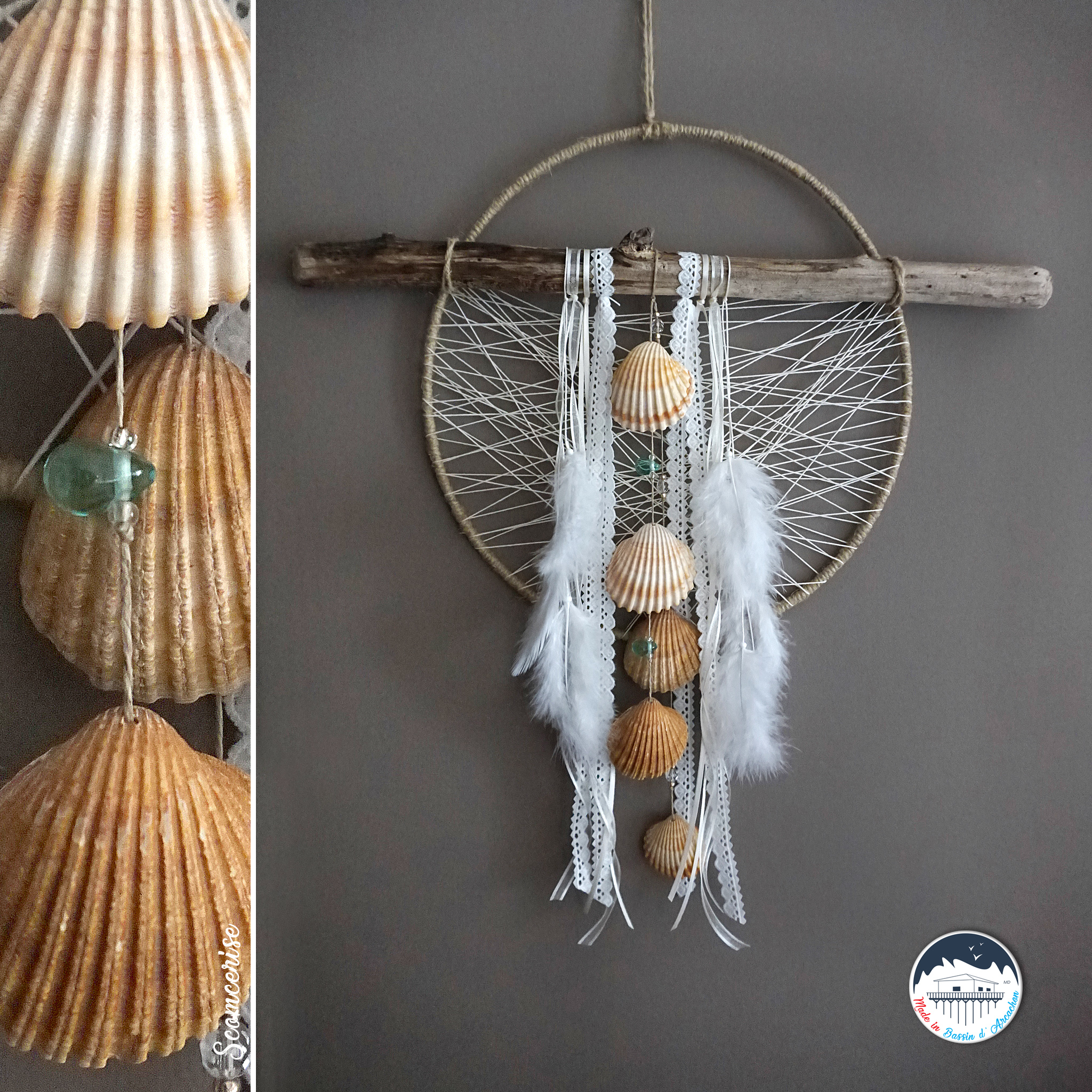 Attrape-rêves Made in Bassin d'Arcachon
