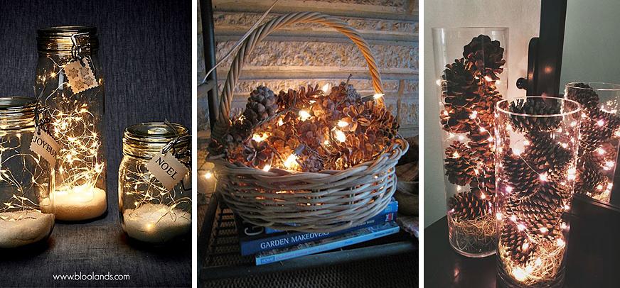 décorations lumnineuses noël ethique chic