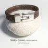 bracelet vegan pour homme