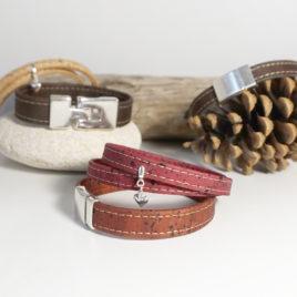 Vegan style : bracelets en liège