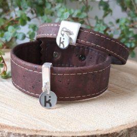 Bracelets Kuünu liège marron